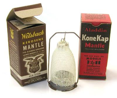 Incandescent Gas Lantern Mantles, Gas Lamp Mantles