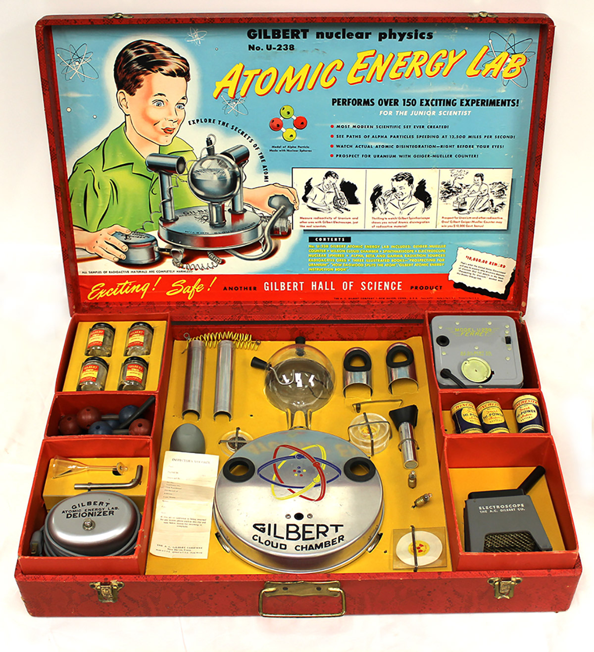 Atomic Finds: Rare collection and curator preserve radiation history