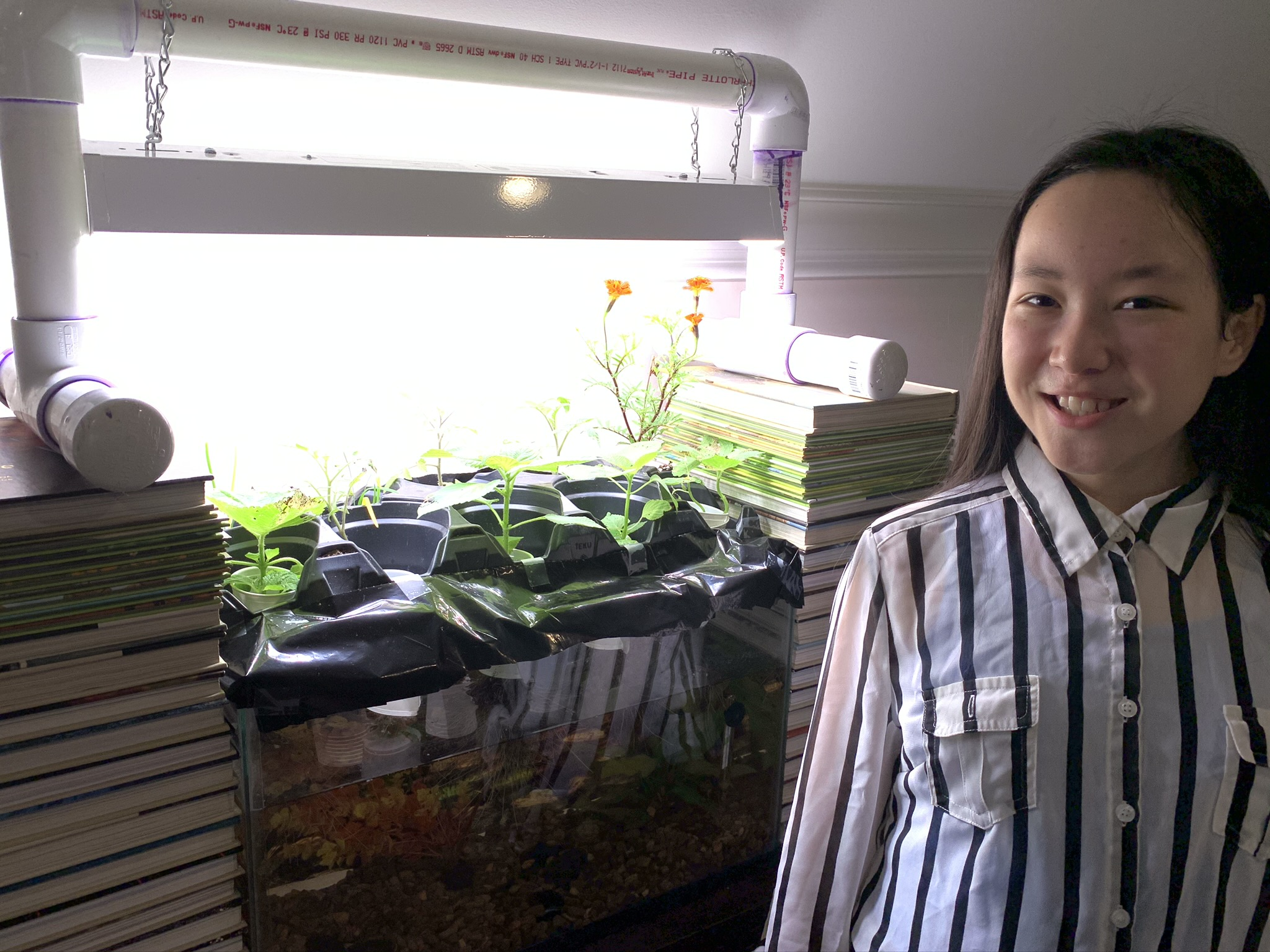 ORISE K-12 competition inspires student to build an aquaponic garden