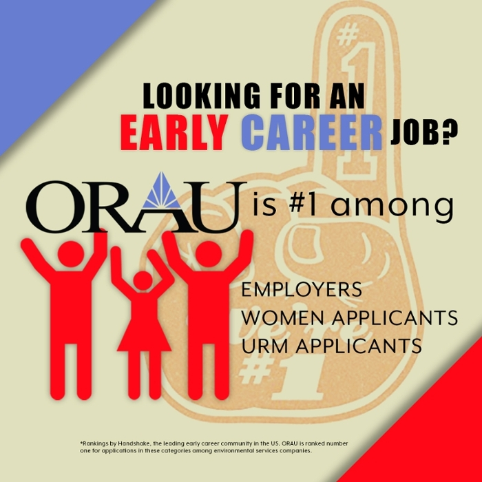 Handshake recognizes ORAU Workforce Solutions as a top employer