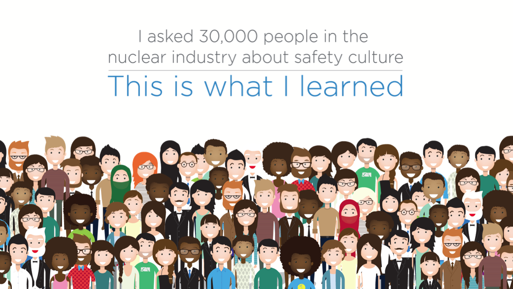 Surveying 25,000 nuclear workers on safety cultures in their workplaces